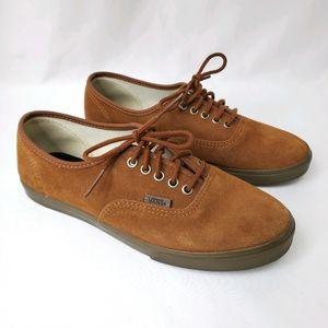 Vans Brown Lace Up Sneakers